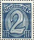 [New Government Service Stamps, Typ M1]