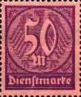 [New Government Service Stamps, Typ V3]