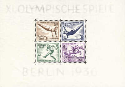 [Olympic Games - Berlin, Germany, Typ ]