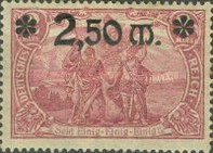 [Stamps of 1905-1911 Overprinted and in New Colors, Typ AC3]