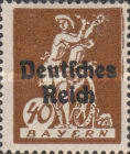 [Postage Stamps from Bayern Overprinted