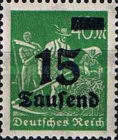[Overprinted Stamps, Typ BB]
