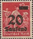 [Overprinted Stamps, Typ BB1]