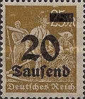 [Overprinted Stamps, Typ BB2]