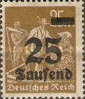 [Overprinted Stamps, Typ BB3]