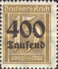 [Overprinted Stamps, Typ BE]