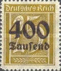 [Overprinted Stamps, Typ BE1]