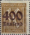 [Overprinted Stamps, Typ BE2]