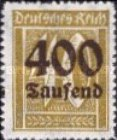 [Overprinted Stamps, Typ BE3]