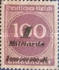 [No.259 Overprinted, Typ BJ1]