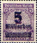 [Billion Overprint, Typ BK]