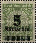 [Billion Overprint, Typ BK1]