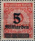 [Billion Overprint, Typ BK2]