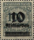 [Billion Overprint, Typ BK9]