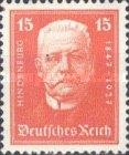 [The 80th Anniversary of the Birth of Paul von Hindenburg - Charity Stamps, Typ CR1]