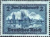 [Landscape Stamp of 1924 with Currency in Reichsmark, Typ DH]