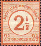 [Definitives - Stamps of 1872 Overprinted, Typ E]