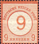 [Definitives - Stamps of 1872 Overprinted, type E1]