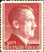 [Hitler - New Daily Stamps, Typ LO25]