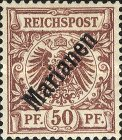 [German Stamps Overprinted