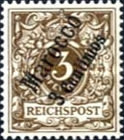 [German Empire Postage Stamps Surcharged, Typ B]