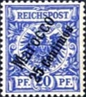 [German Empire Postage Stamps Surcharged, Typ B3]