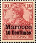 [German Empire Postage Stamps Surcharged, Typ C2]