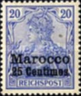 [German Empire Postage Stamps Surcharged, Typ C3]