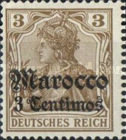 [German Empire Postage Stamps Surcharged, Typ E]