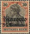 [German Empire Postage Stamps Surcharged, Typ E5]