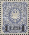 [Germna Empire Postage Stamps Surcharged, type A2]
