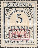 [Romanian Postage Due Stamps Overprinted