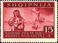 [Charity Stamps - Aid for Bombing Victims, tyyppi B2]