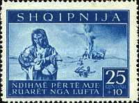 [Charity Stamps - Aid for Bombing Victims, tyyppi B3]