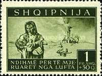 [Charity Stamps - Aid for Bombing Victims, tyyppi B4]