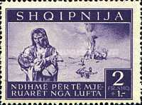 [Charity Stamps - Aid for Bombing Victims, tyyppi B5]