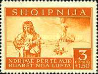 [Charity Stamps - Aid for Bombing Victims, tyyppi B6]