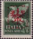 [Italian Airmail Stamps Overprinted, type D5]