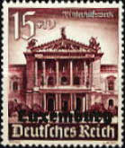 [Winter Aid - German Empire Postage Stamps Overprinted