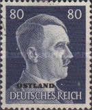 [German Empire Postage Stamps Overprinted