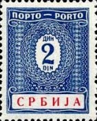 [Postage Due Stamps, type C1]