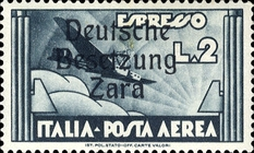 [Italy Airmail Express Stamp of 1933 Overprinted