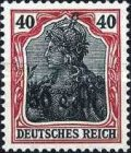 [German Empire Postage Stamps Surcharged, Typ A7]