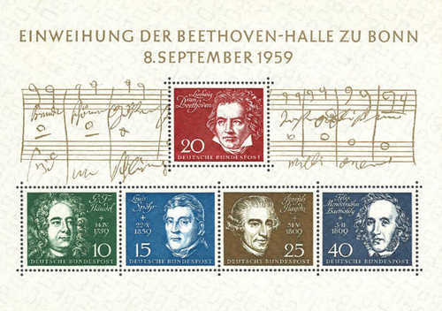 [The Consecration of the Beethoven Hall in Bonn, Typ ]