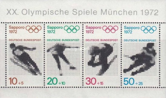 [Summer and Winter Olympic Games - Sapporo, Japan & Munich, Germany, type ]
