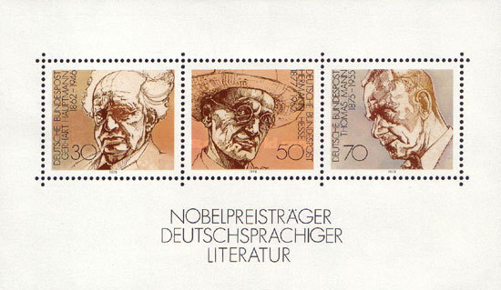 [Nobel Prize Winners of Literature, type ]