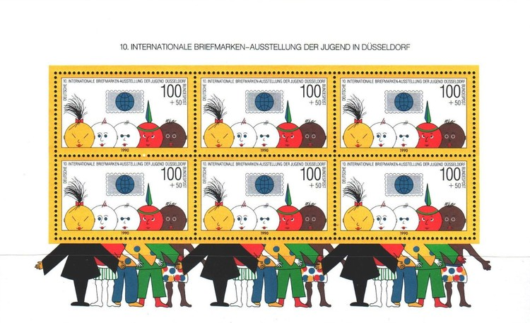 [The 10th International Youth Stamp Exhibition, Typ ]