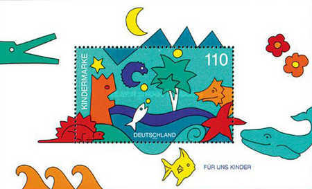[Childrens Stamps, Typ ]