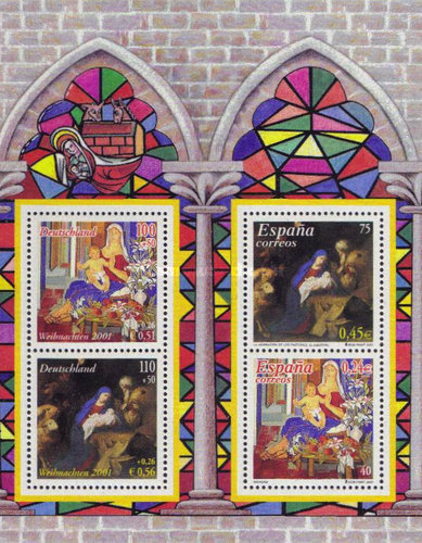 [Christmas Stamps - Joint Issue with Spain, type ]