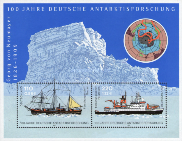 [The 100th Anniversary of the German Artic Research, type ]
